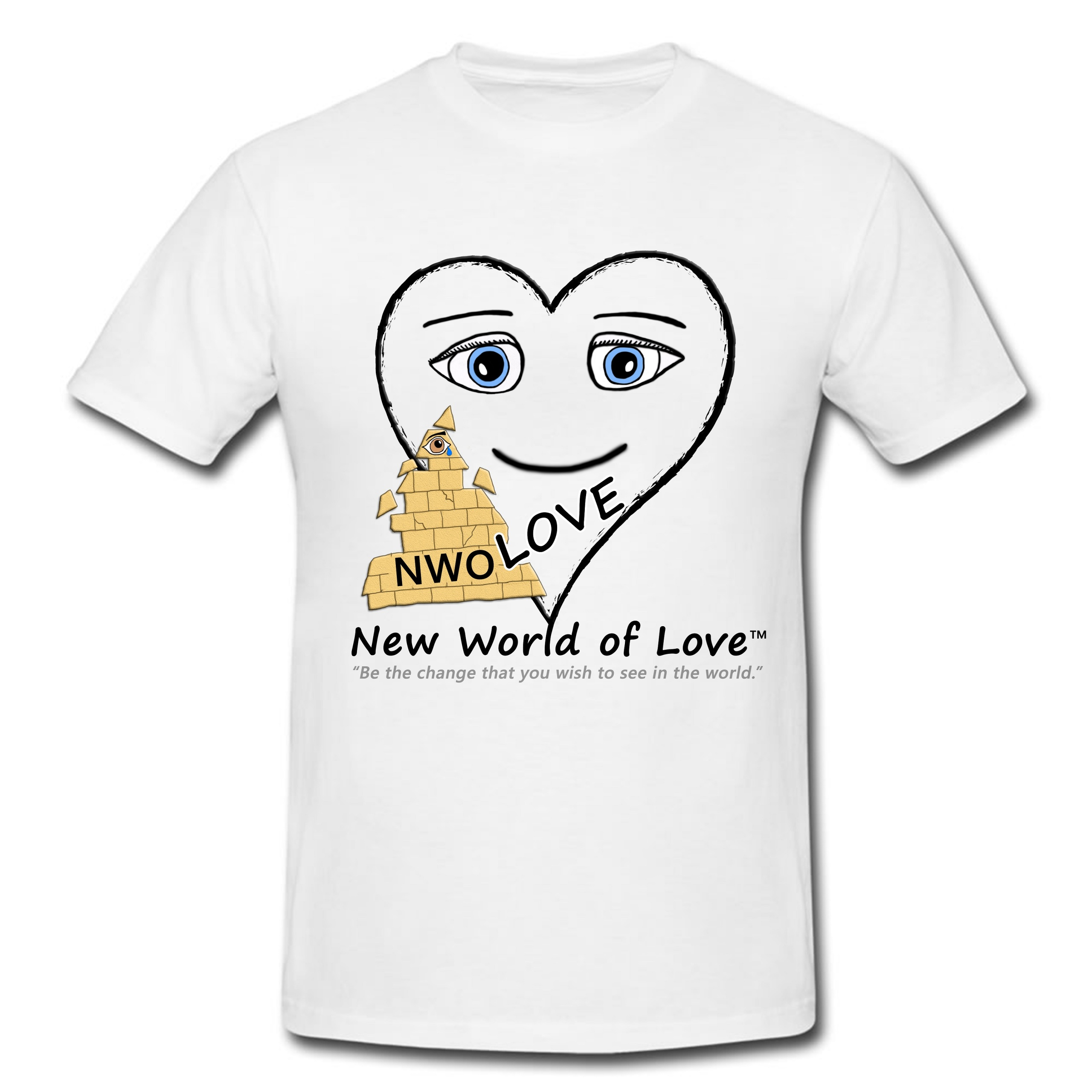 New world of love t shirt multiple designs gumiabroncs Choice Image
